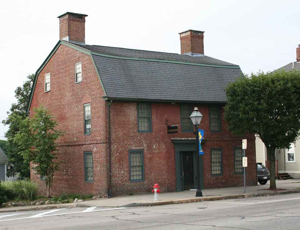 294 Main Street, East Greenwich, the Brick House